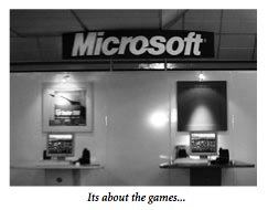 Microsoft- It's the games